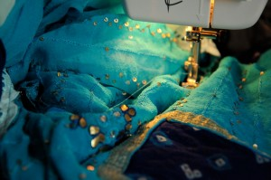 Sewing Oshun clothing