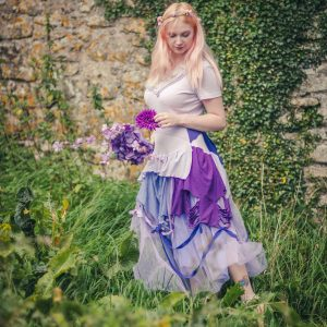 adult lilac fairy dress