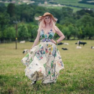 Glastonbury festival dress