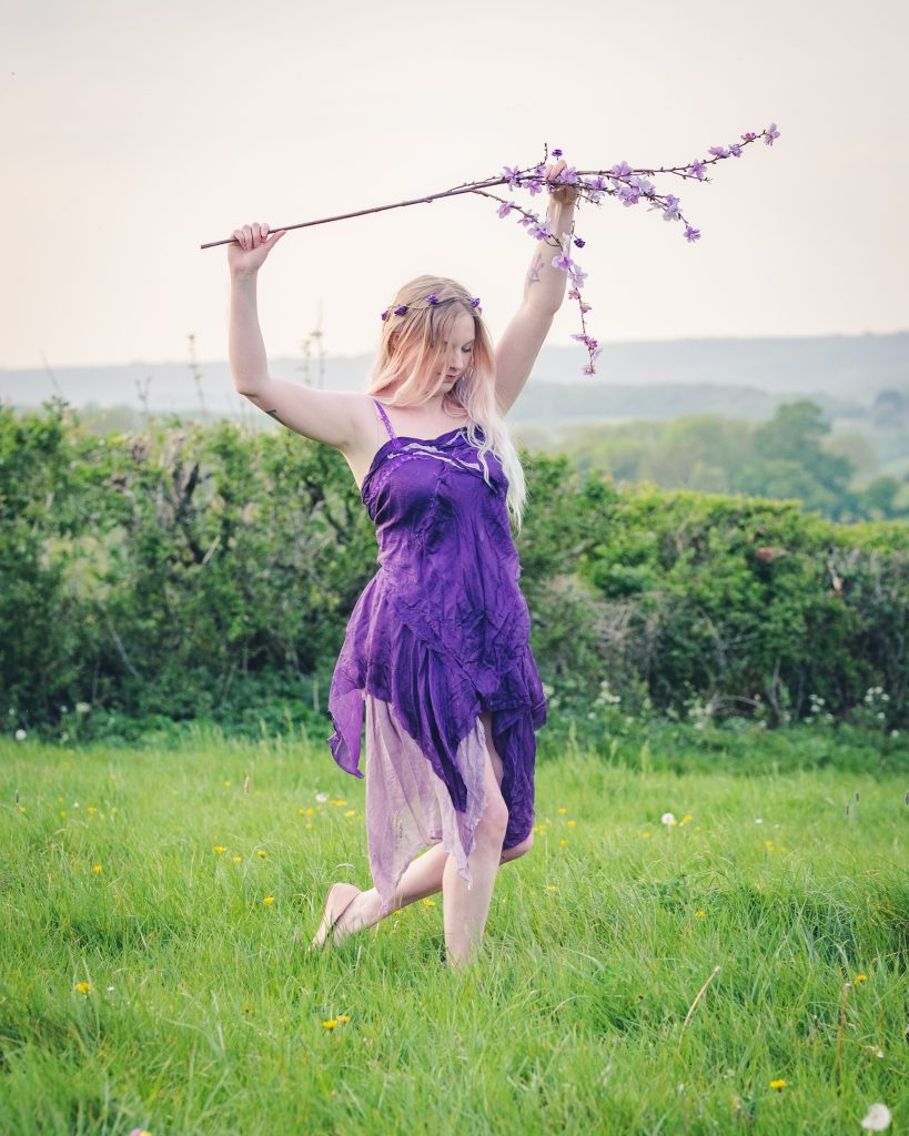 purple fairy costume